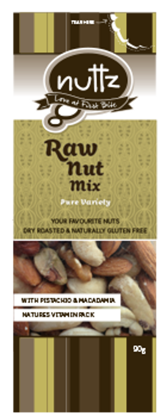 Premium Raw Nut Mix 90g