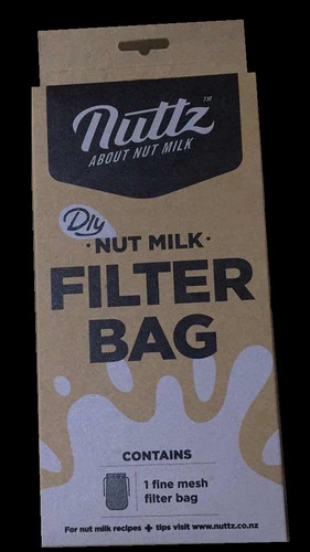 DIY Nutmilk Mesh Filter Bag