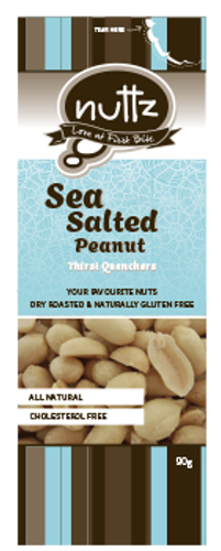Sea Salted Peanuts 90g