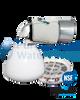 Bath Ball Chlorine Free Filter (White) with Cartridge