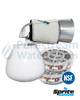 Chlorine Free Bath Ball Filter - White (Including Two Cartridges)