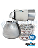Chlorine Free Bath Ball Filter - Chrome (Including Two Cartridges)