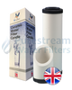 "0.5 Micron 10"" X 2.5"" Doulton Sterasyl  Ceramic- UK"