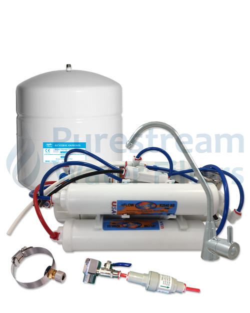 Reverse Osmosis 4 Stage Undersink Compact