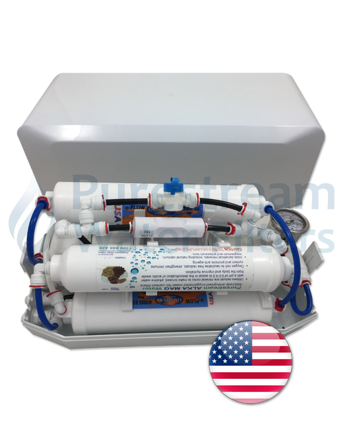 Reverse Osmosis 4 Stage Countertop (with Pi Alkaliser)