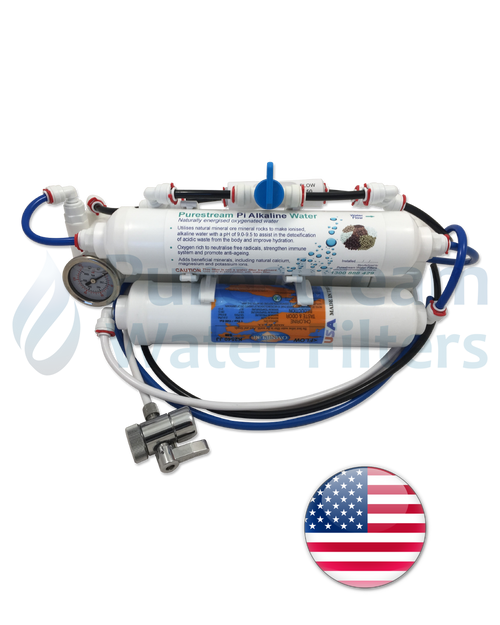 Reverse Osmosis 3 Stage Countertop (with Pi Alkaliser)