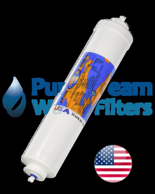 "Fridge Filter Premium 10"" x 2.0"" (Chlorine removal) - USA"
