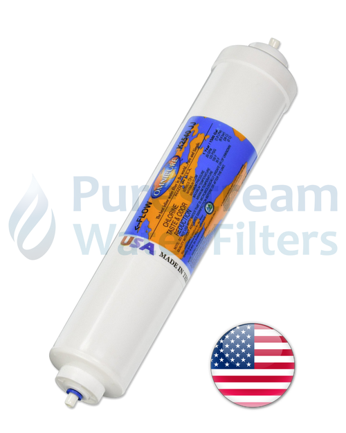 "Fridge Filter Premium 10"" x 2.0"" (Chlorine removal) - USA"