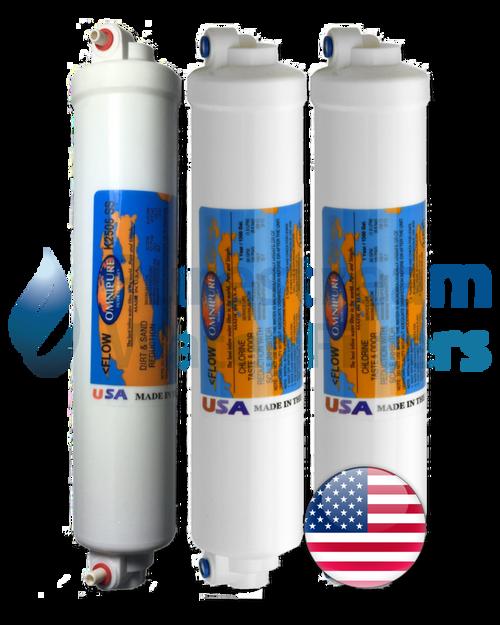 Cartridge Pack (3) Countertop Reverse Osmosis