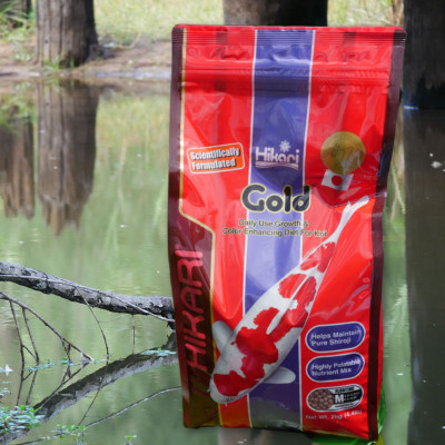 high quality food for your koi & goldfish