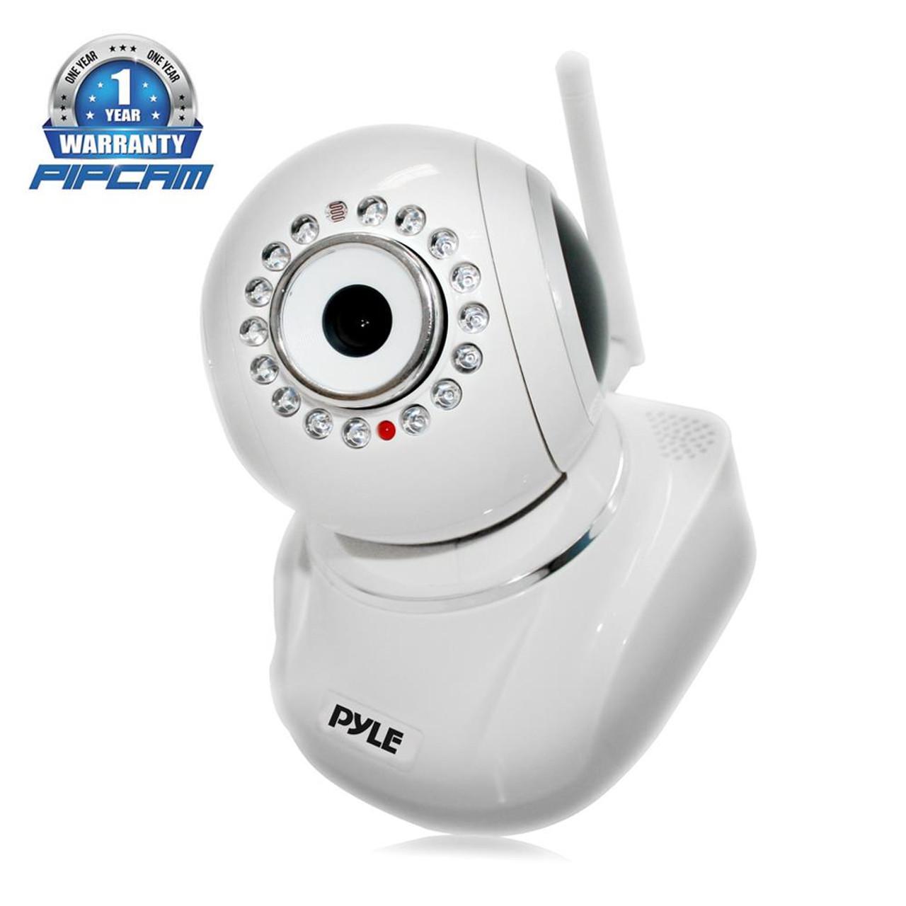 Pyle PIPCAMHD82 IP Cam Full HD 1080p WiFi Security Camera