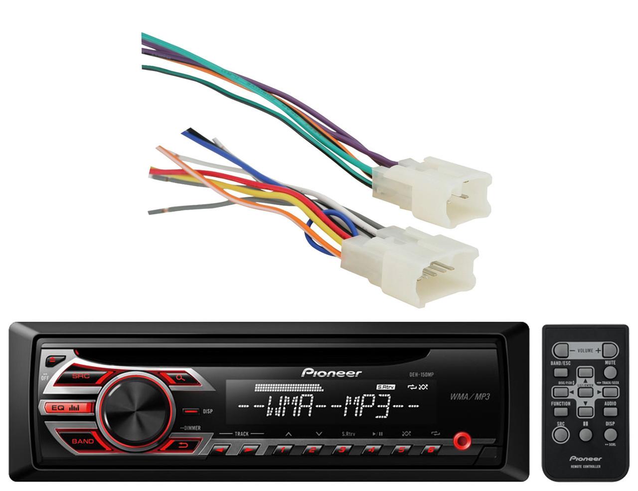 Pioneer CD AUX Mp3 Car Stereo Receiver, New Metra 70-1761 Toyota 87 on pioneer audio, pioneer wheel, radio harness, pioneer wiring-diagram, pioneer wiring installation, pioneer deh wiring, pioneer pump, pioneer wiring guide, pioneer speaker, pioneer replacement harness,