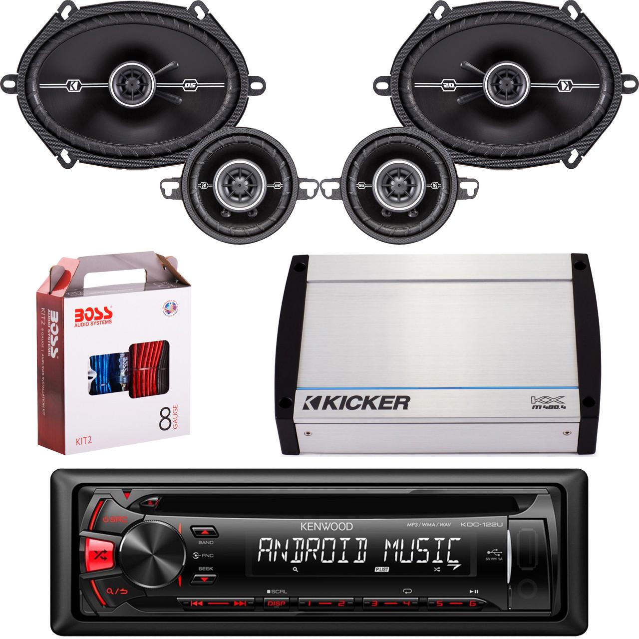 Kicker Marine Speaker 6 Inch Besides 2 1 Speaker System Besides Wiring