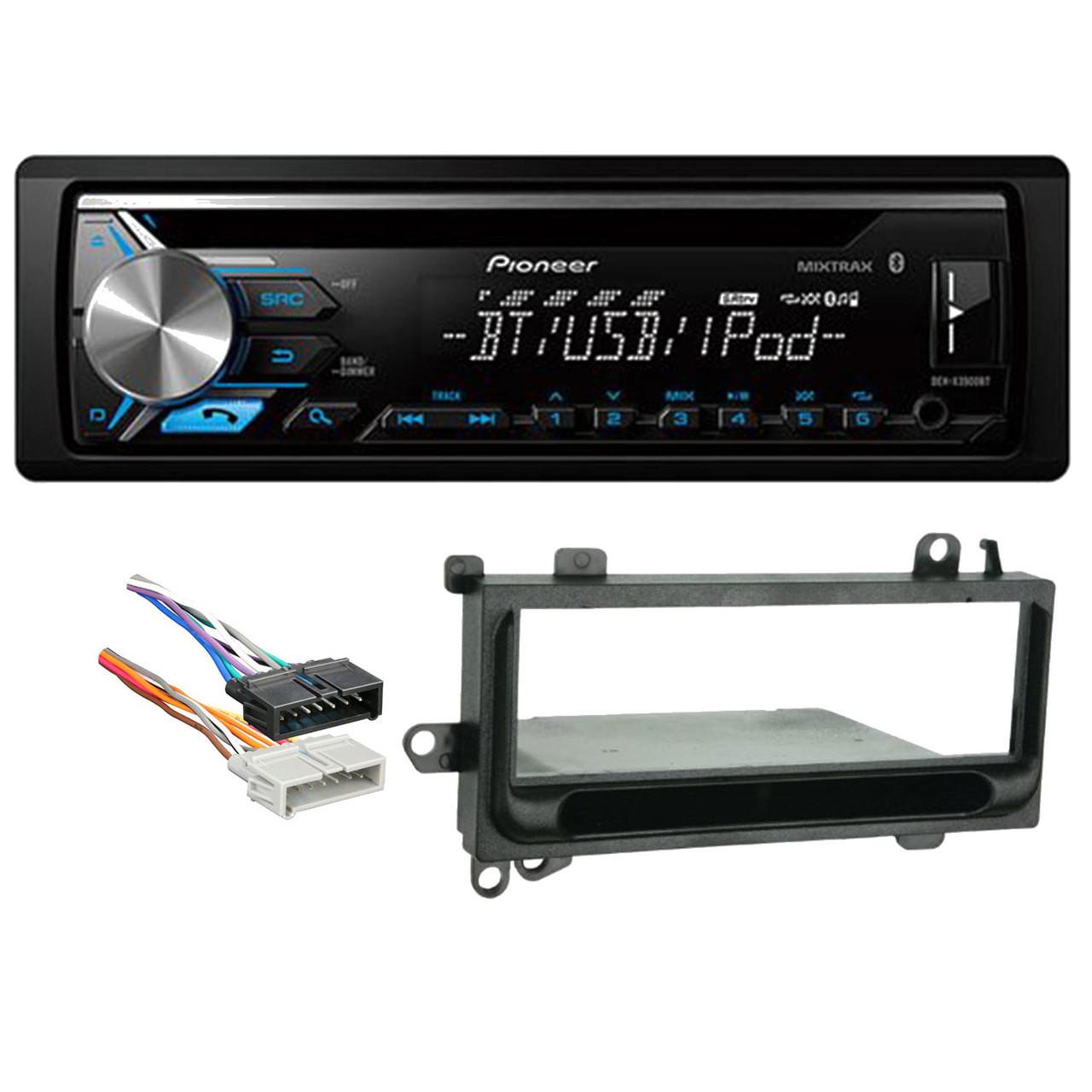 Amazing Pioneer Deh X3900Bt Single Din Bluetooth In Dash Cd Am Fm Car Stereo Wiring 101 Eattedownsetwise Assnl
