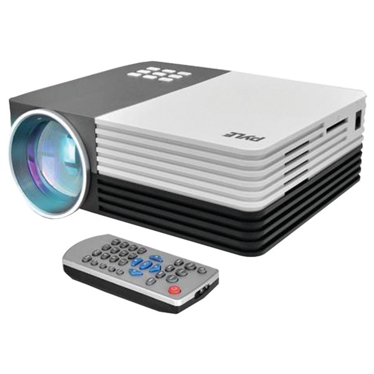 NEW Pyle PRJG48 Pocket Projector 1080p Support USB//SD Readers  HDMI /& VGA Inputs