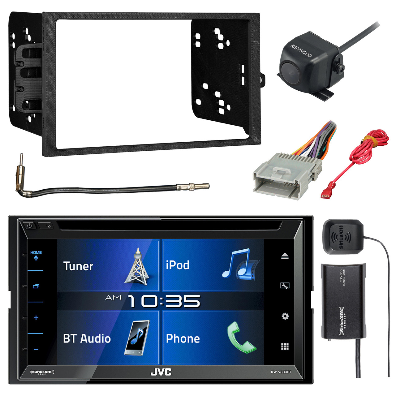 Sony CD Player PKG Chevrolet S10 GMc Sonoma Radio Install Dash Kit Harness