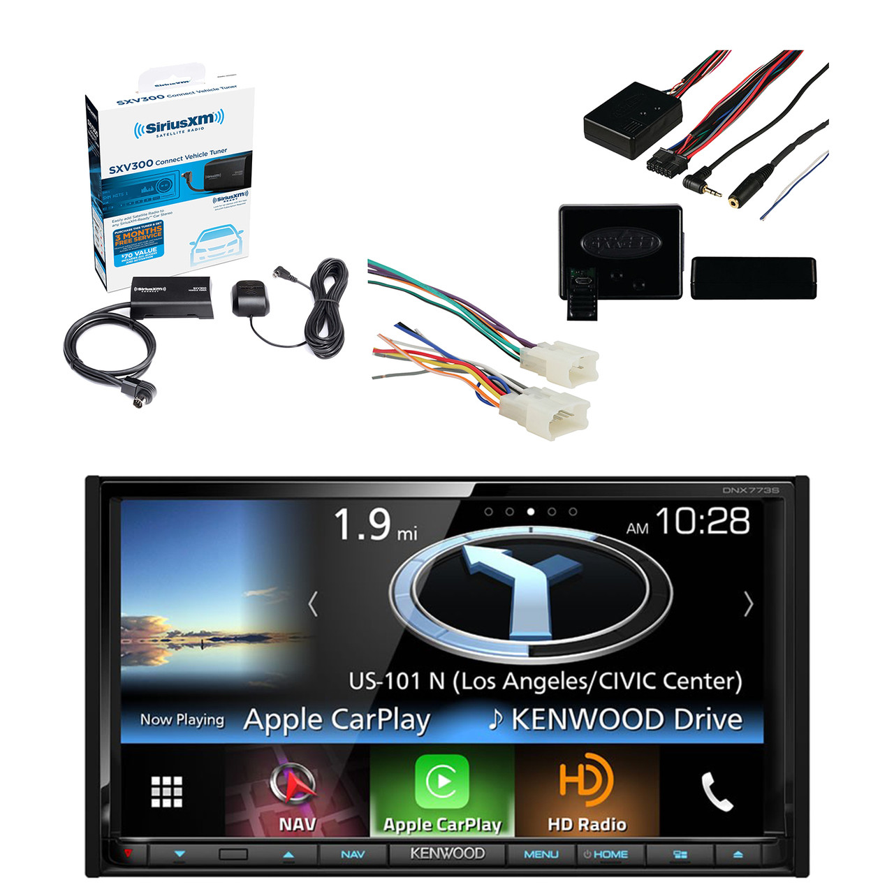 Kenwood In-Dash 2-DIN 6.95 Inch Touchscreen DVD Receiver with ... on dash radio, 1971 chevelle dash harness, 1967 chevrolet van dash harness, 1987 chevy dash harness, dash gauges, chevy suburban wire harness, 99 firebird dash harness,