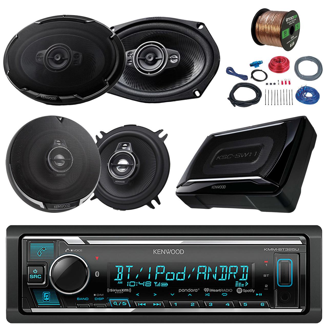 Fantastic Kenwood Car Bluetooth Radio 150W Subwoofer 6X9 And 5 25 Speakers Wiring 101 Olytiaxxcnl
