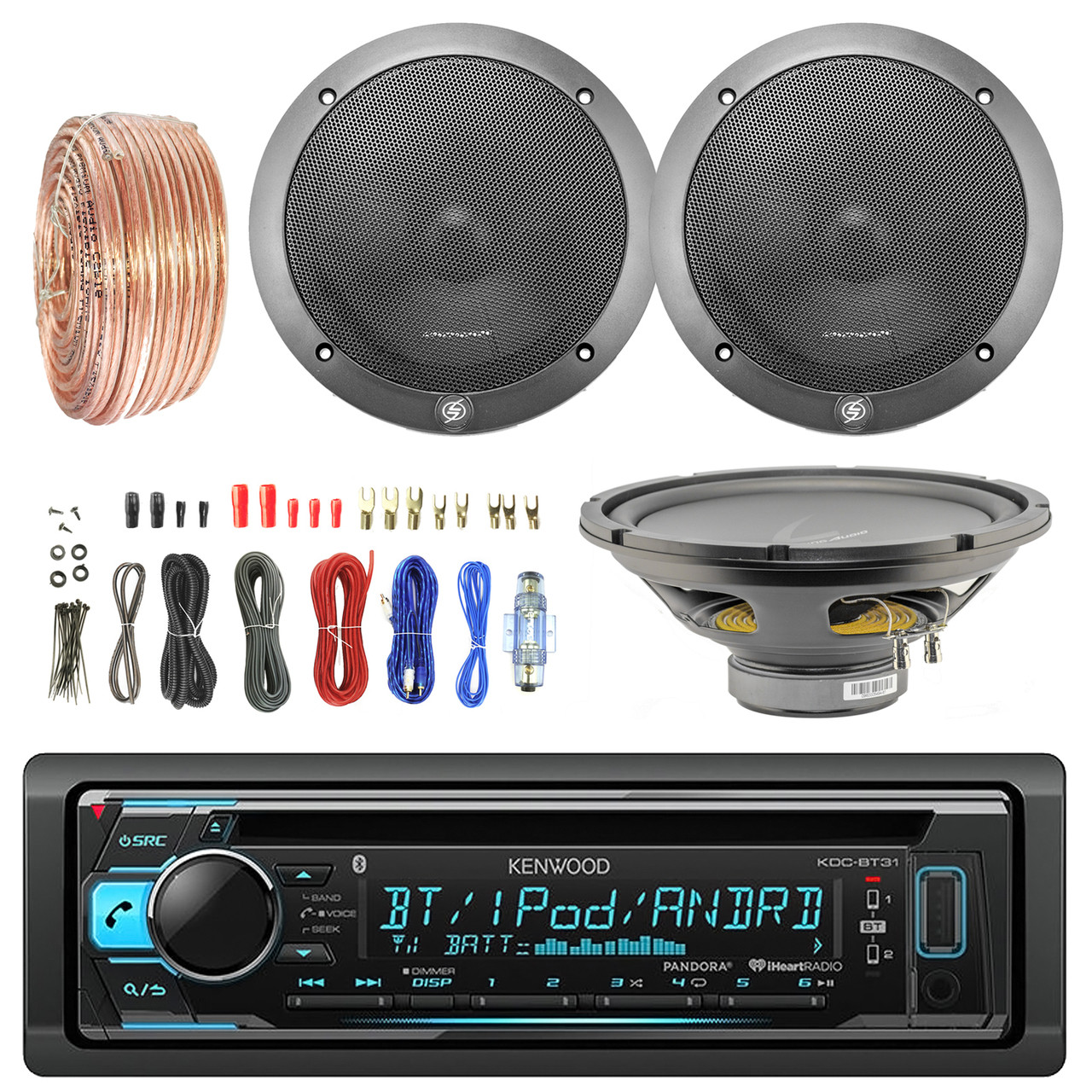 Outstanding 12 Single Voice Coil Subwoofer 6 5 Speakers Bluetooth Cd Radio Wiring 101 Olytiaxxcnl
