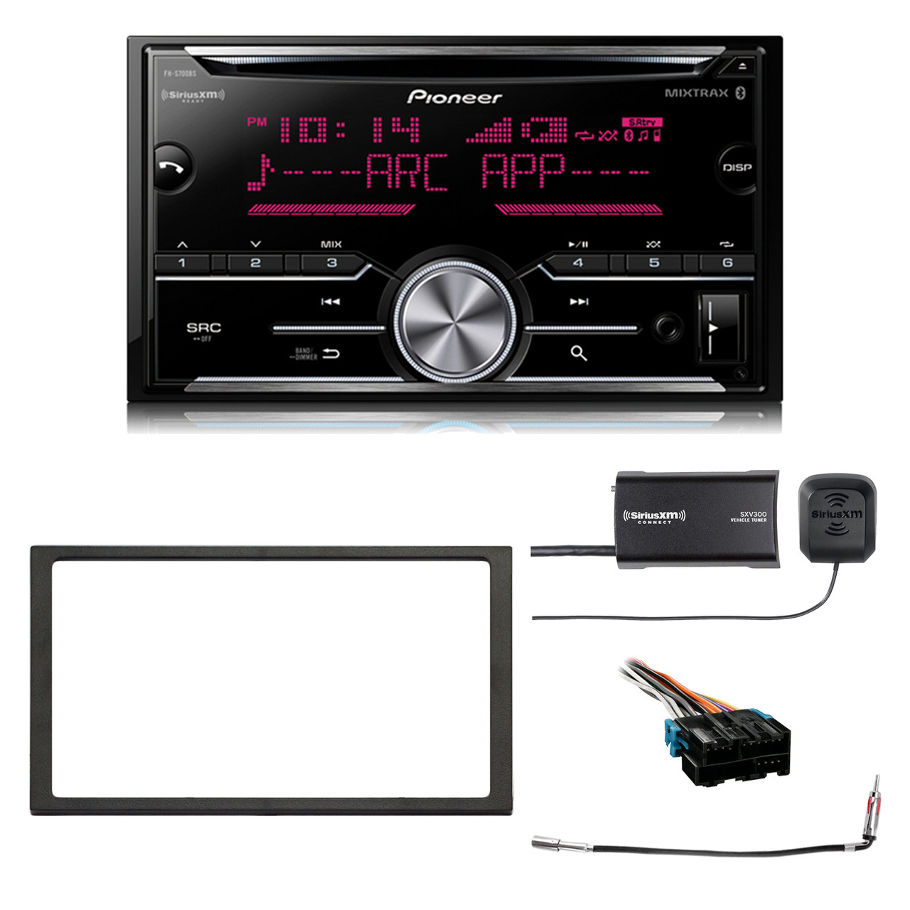 GMC Sierra Truck 1988-2002 Factory Stereo to Aftermarket Radio Install Harness