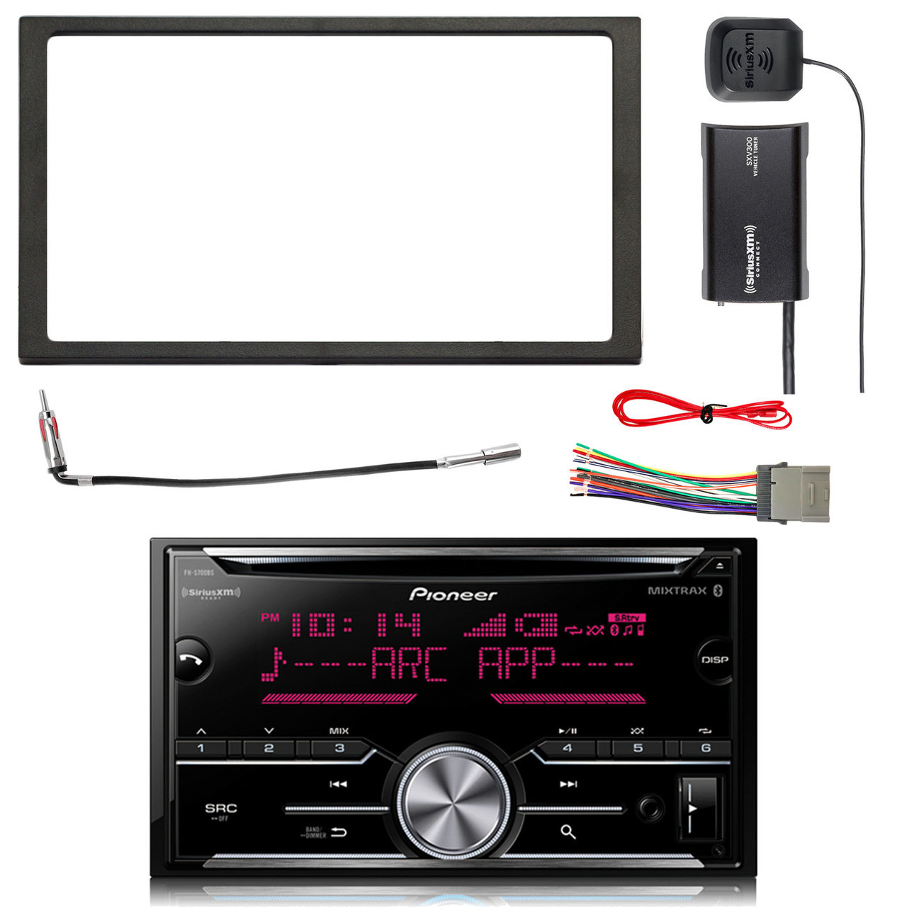 Pioneer Double DIN CD Bluetooth SiriusXM-Ready Receiver, SiriusXM Satellite on starcraft boat wiring harness, boat motor wiring harness, installing boat fuel tank, pontoon boat wiring harness, jet boat wiring harness,