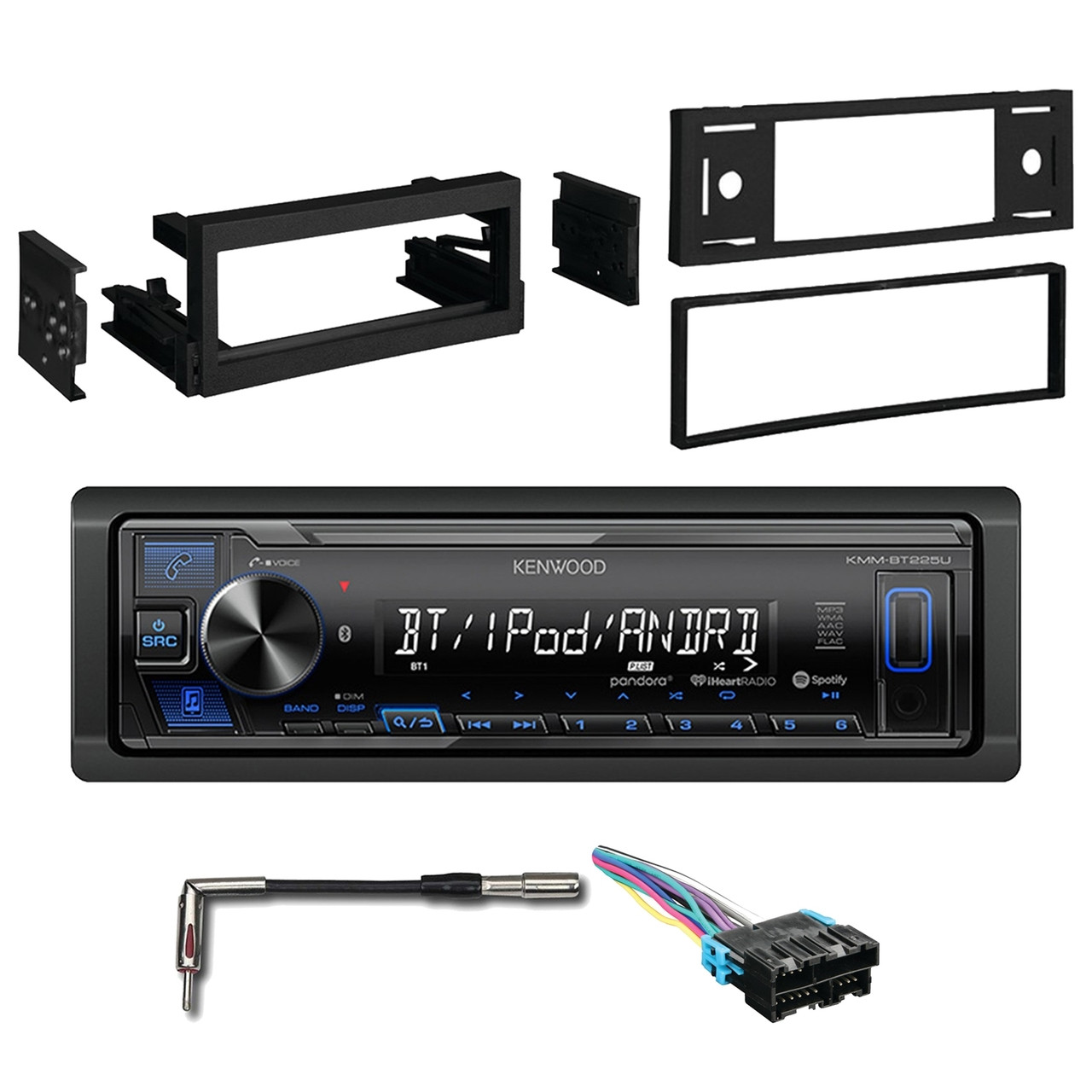 About Car Stereo Cd Player Wiring Harness Wire Adapter For Kenwood