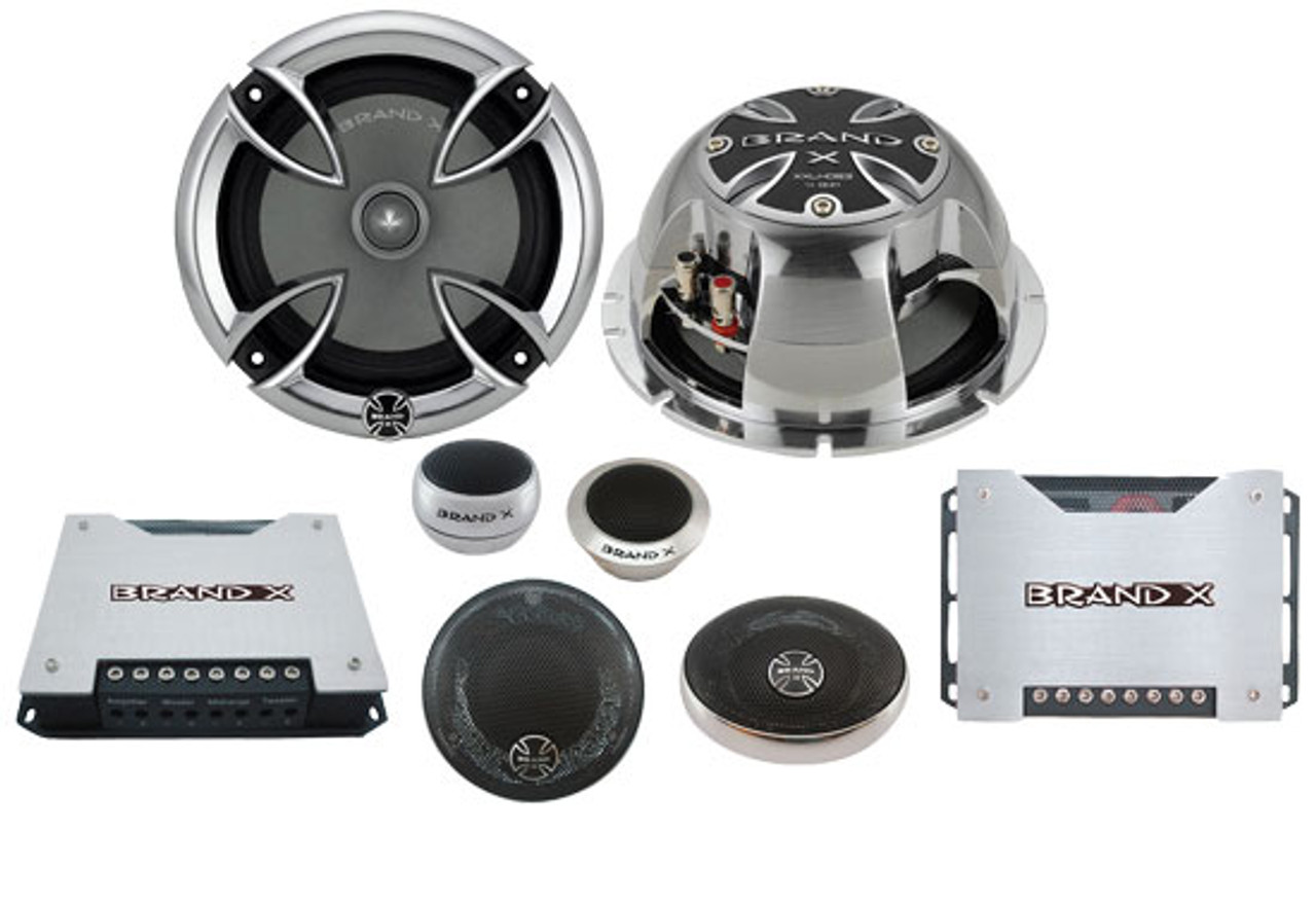 Brand-X XLC62 6.5 2-Way Speaker System