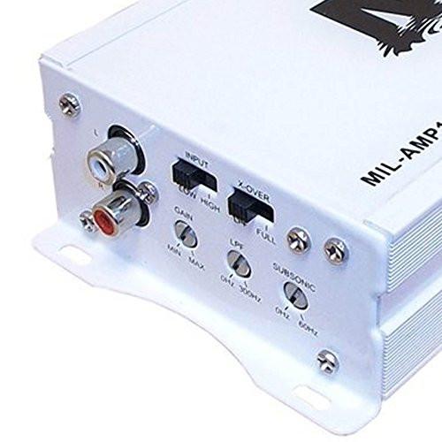 Milennia AMP1702 Class D Two-Channel Marine Amplifier Boat Amp 2 x 70 Watt