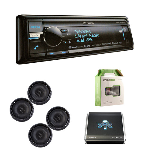 kdcbt858u cd player siriusxm w kenwood speakers, amplifier & 18g 50' spkr wire (r kdcbt858u kfc1665s ta10504 eakit8g) kenwood kdc mp208 wiring-diagram kenwood kdc 300 cd player wiring diagram #11