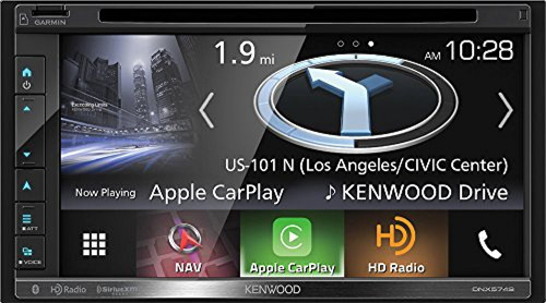 Kenwood 2-DIN Navigation In-Dash DVD/CD/AM/FM Bluetooth Car Stereo on double din bracket, double din trim ring, double din radio, double din cover, double din dash panel,