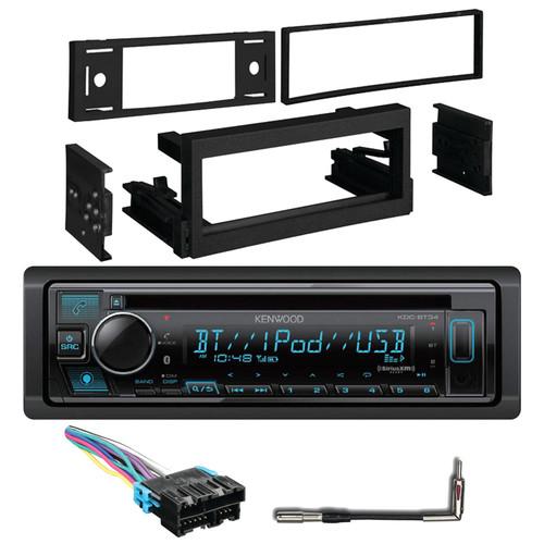 Radio Wiring Harness Metra 99-3002 Dash Kit for Select 95-05 GM Vehicles Antenna Adapter Kenwood KMM-BT225U Single-DIN Digital Media Bluetooth Receiver