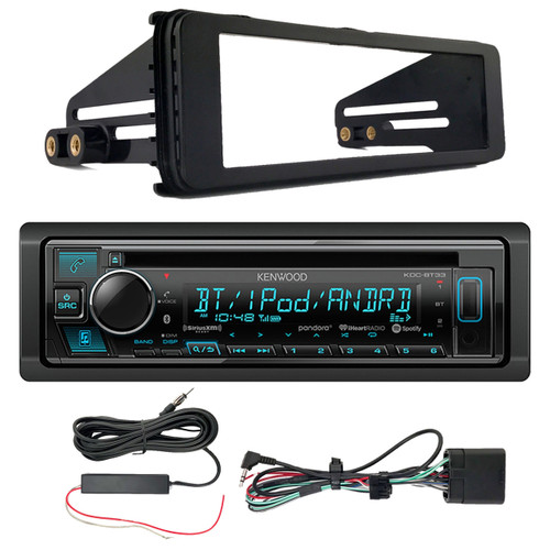 Kenwood In Dash Car Audio CD Bluetooth SiriusXM Ready ... on