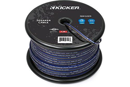 Kicker QW1220 20-Feet 12-Gauge AWG Q-Series Speaker Wire