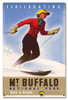 Mt Buffalo National Park Metal Sign 24 x 16 Inches