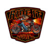 Ride It Metal Sign 16 x 14 Inches