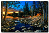Head Waters Metal Sign 36 x 24 Inches