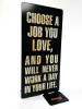 Love Job Table Topper 4 x 9 Inches