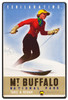 Mt Buffalo Skiing Metal Sign 24 x 36 Inches