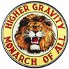 Gilmore Lion Metal Sign 14 x 14 Inches