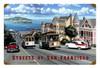 Retro San Francisco Streets Metal Sign 18 x 12 inches
