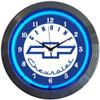 Retro Gm Genuine Chevy Neon Clock 15 X 15 Inches