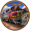 Super Chief Round Metal Sign 14 x 14 Inches