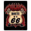 Route 66 Kicks Metal Sign 12 x 15 Inches