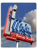 Mels Daytime Metal Sign 12 x 15 Inches