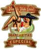 Retro Margarita Especial Custom Shape Metal 20 x 24 Inches