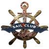 3-D Layered Sail Club Metal Sign 24 x 24 Inches