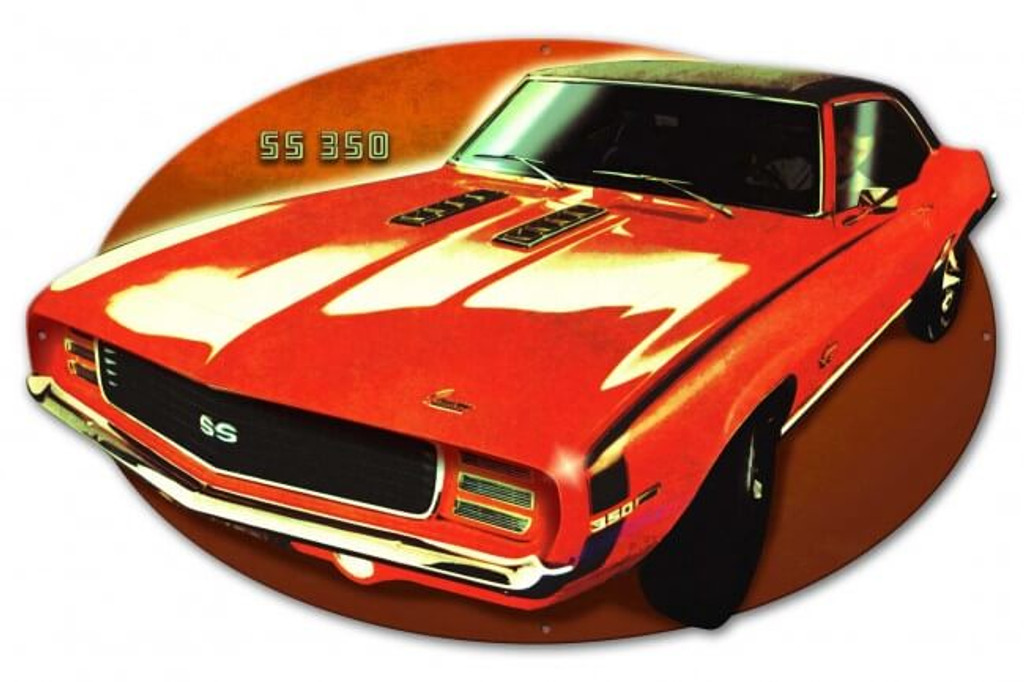 SS 350 Metal Sign 29 x 18 Inches