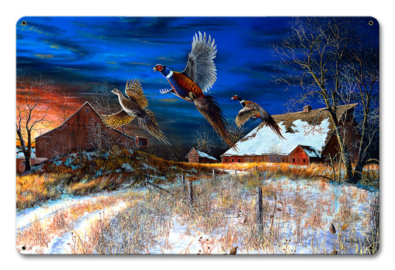 Homestead Metal Sign 18 x 12 Inches
