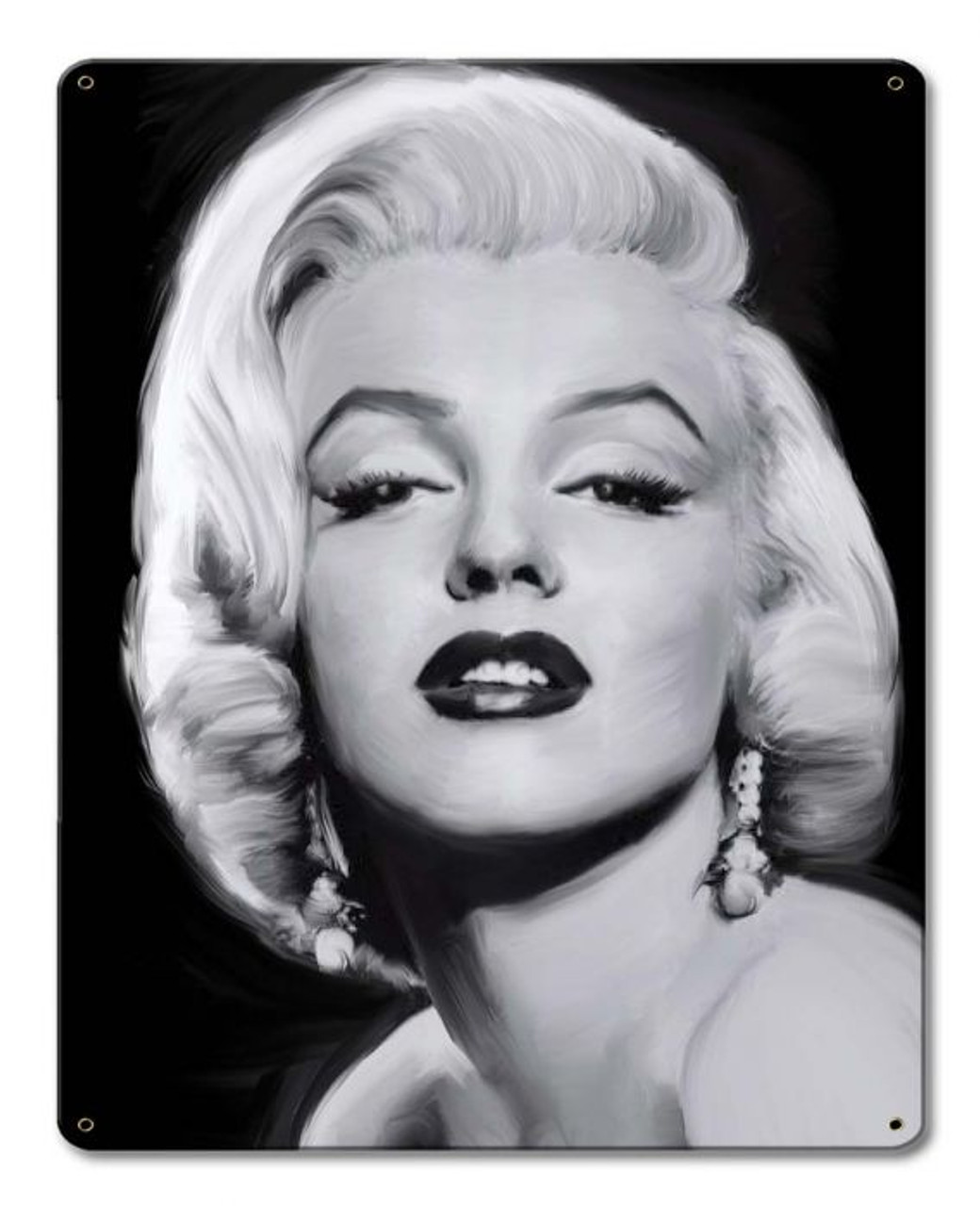 Come To Me Marilyn Monroe Metal Sign 12 x 15 Inches