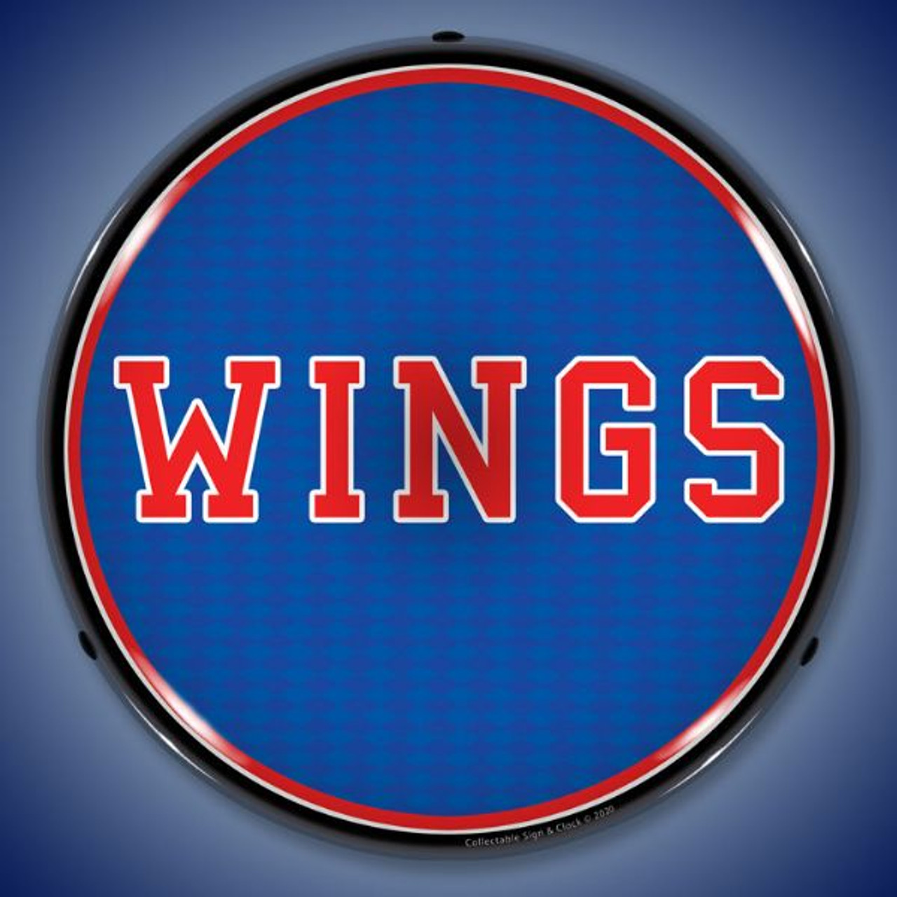 Wings LED Lighted Business Sign 14 x 14 Inches